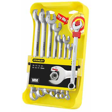 ����� ��������������� ������� ������ Ratcheting Wrench (8 ��.) Stanley 4-95-660