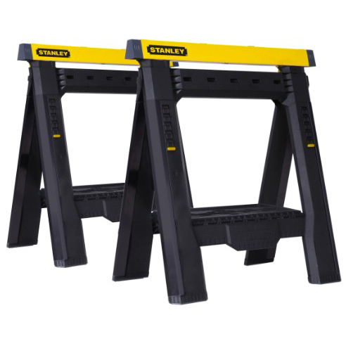 ����� 2-Way Adjustable Sawhorse Twin Pack Stanley STST1-70559