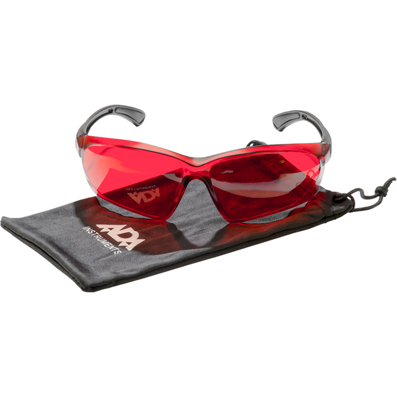 Лазерные очки ADA VISOR RED laser glasses