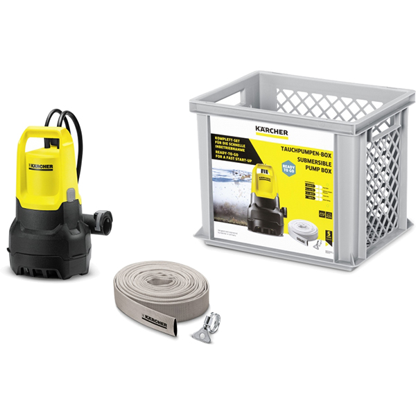 Погружной насос Karcher SP 5 Dirt Submersible Pump Box